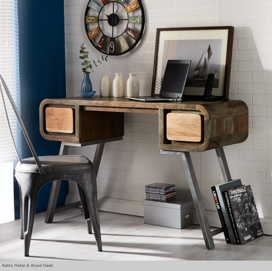 Retro_Metal_and_Wood_Office_Desk
