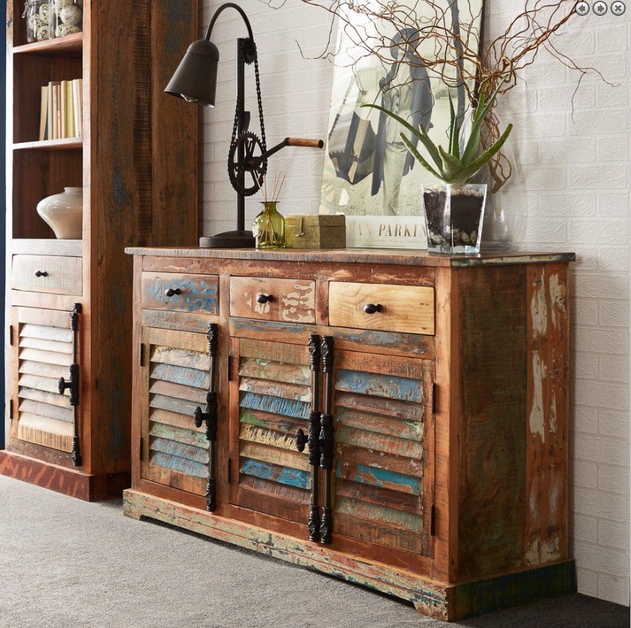 recycled wood sideboard for sale uk
