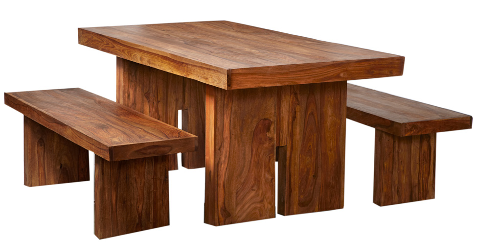 Reclaimed Indian Wood Dining Room Furniture