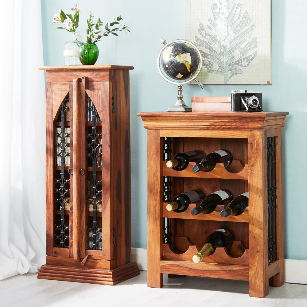 wood cupboard preparing zoom wine glass with shelf rack