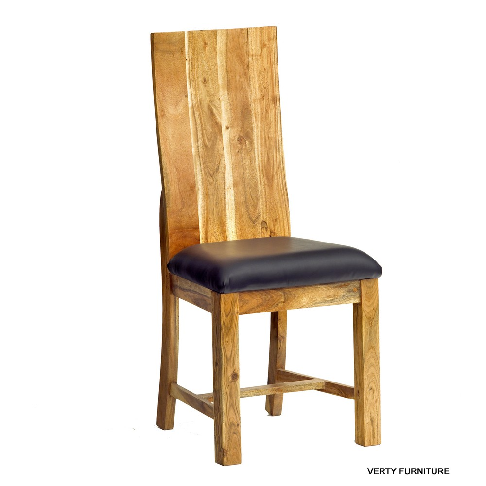 Acacia Dining Chair pair Verty Indian Furniture