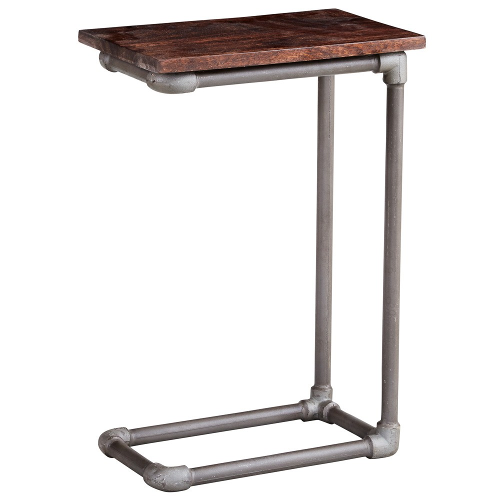 Centra Industrial Sofa Table
