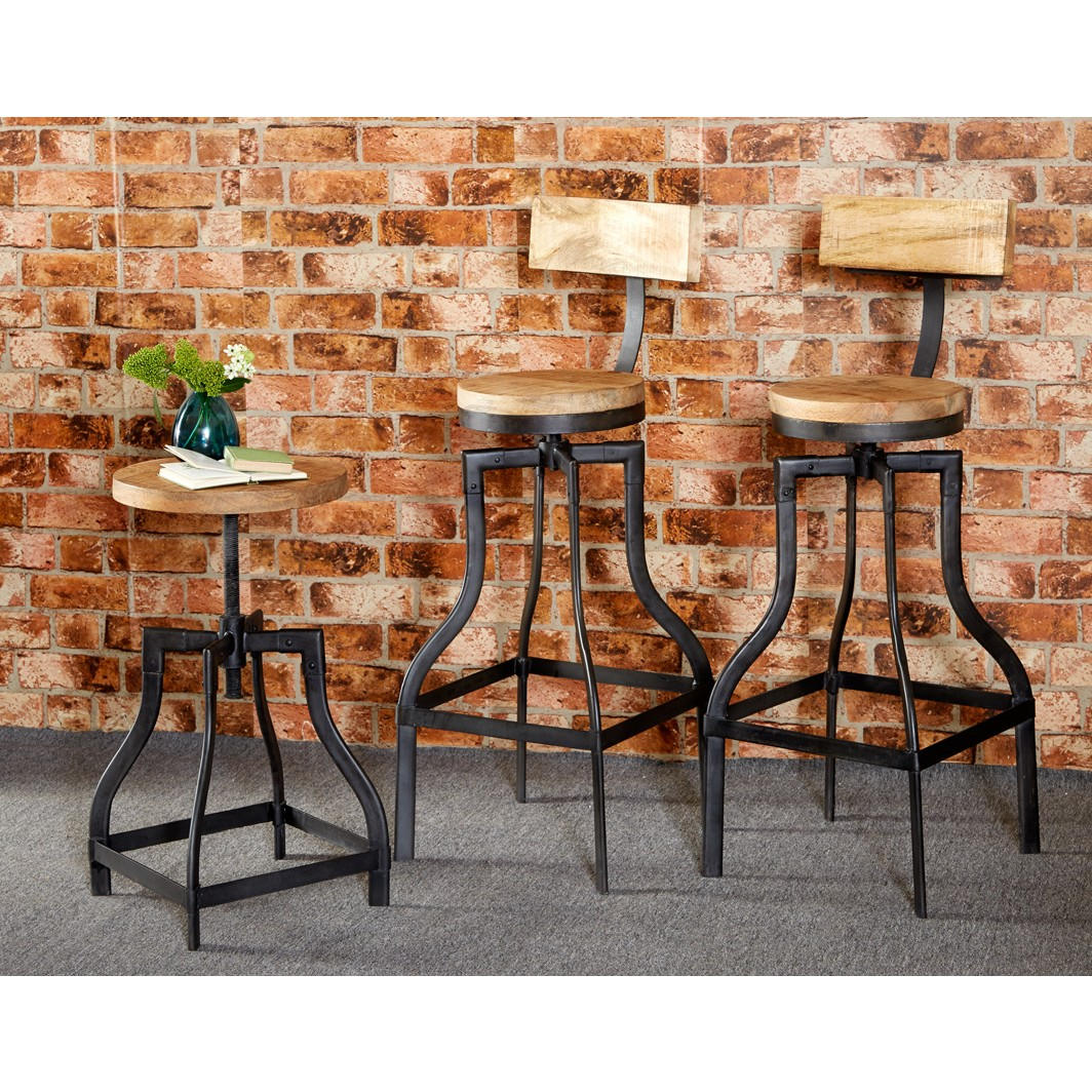 Bar Stool Upcycled Industrial Vintage Mintis : id30 lifestyle from vertyfurniture.co.uk size 1064 x 1064 jpeg 389kB