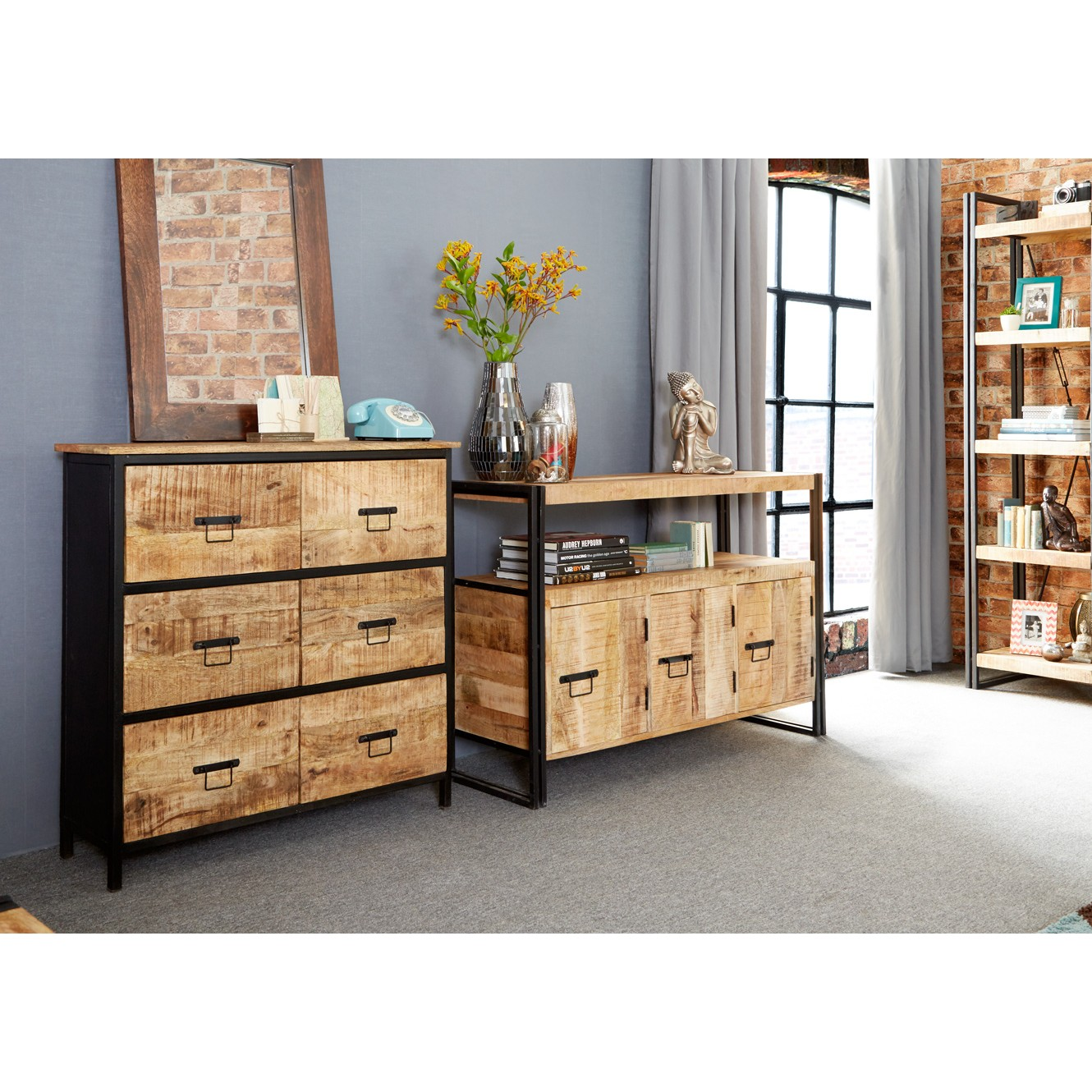 chest drawers industrial of