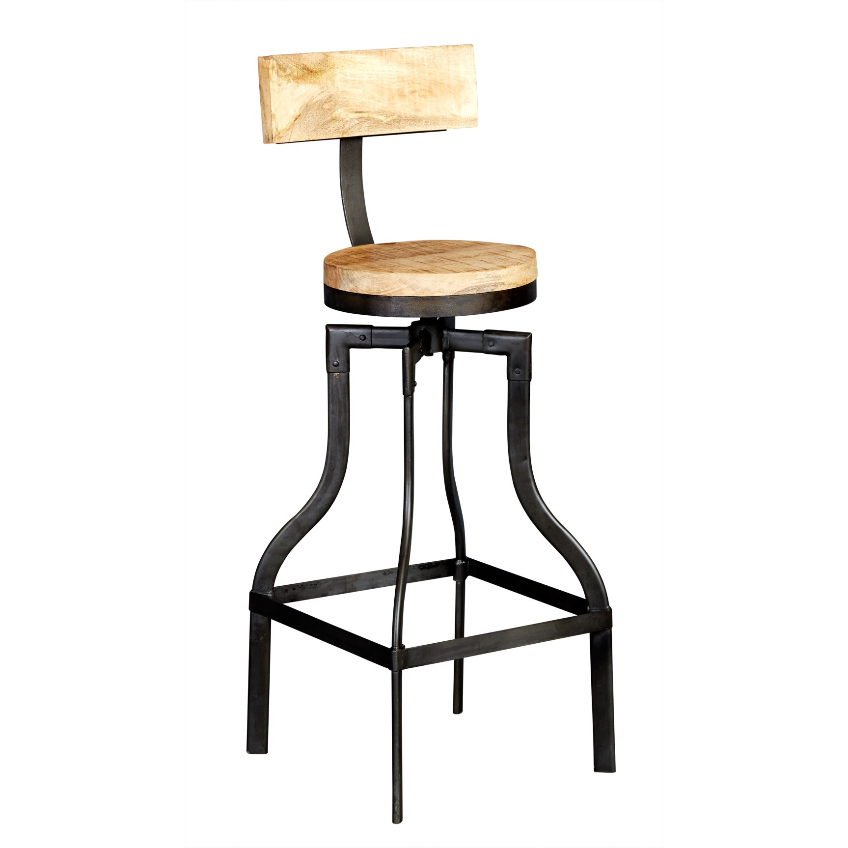 Bar Stool Upcycled Industrial Vintage Mintis : id30 from vertyfurniture.co.uk size 1727 x 1727 jpeg 157kB