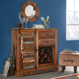 Reclaimed Boat Small Sideboard