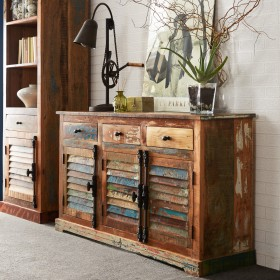Reclaimed Boat Large Sideboard