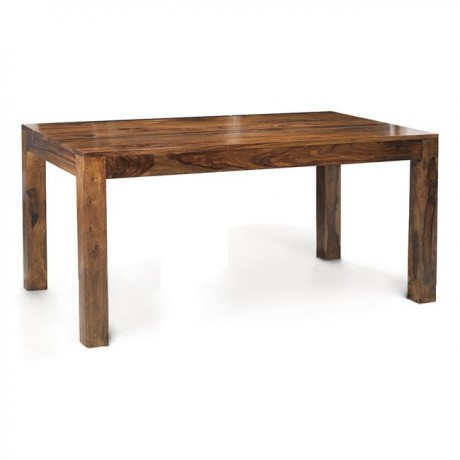 Cube Indian Wood Dining Table 4 ft (120Cm)