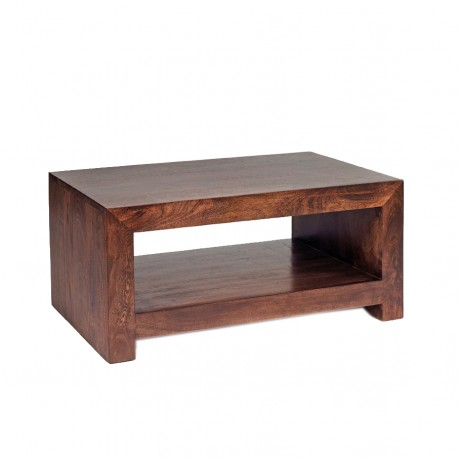 Dakota Mango Contemporary Coffee Table Verty Indian Furniture