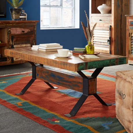 Reclaimed Boat Coffee Table