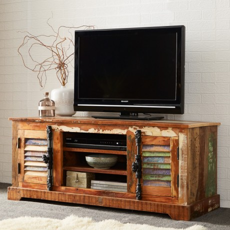 Reclaimed Boat TV Media Unit