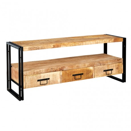 Upcycled Industrial Vintage Mintis Large Tv Stand