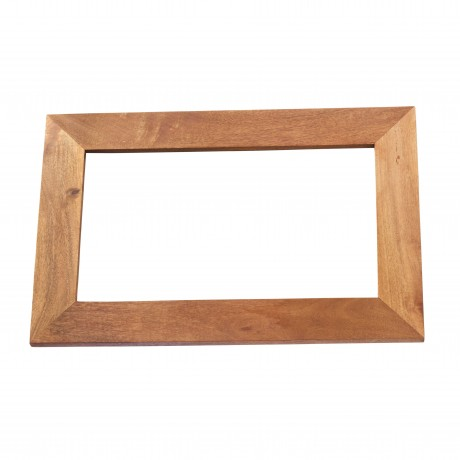 Dakota Light Mango Solid Wood Frame Mirror