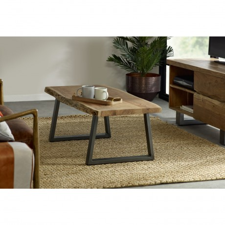Natural Essential Live Edge Coffee Table