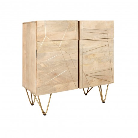 Small Sideboard Dallas Light Mango