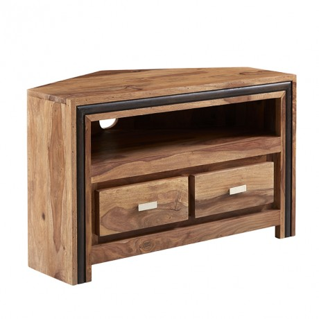 Indus Sheesham Corner TV Cabinet