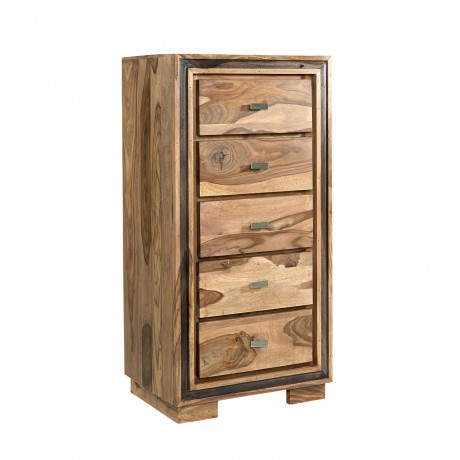 Indus Sheesham 5 Drawer Chest