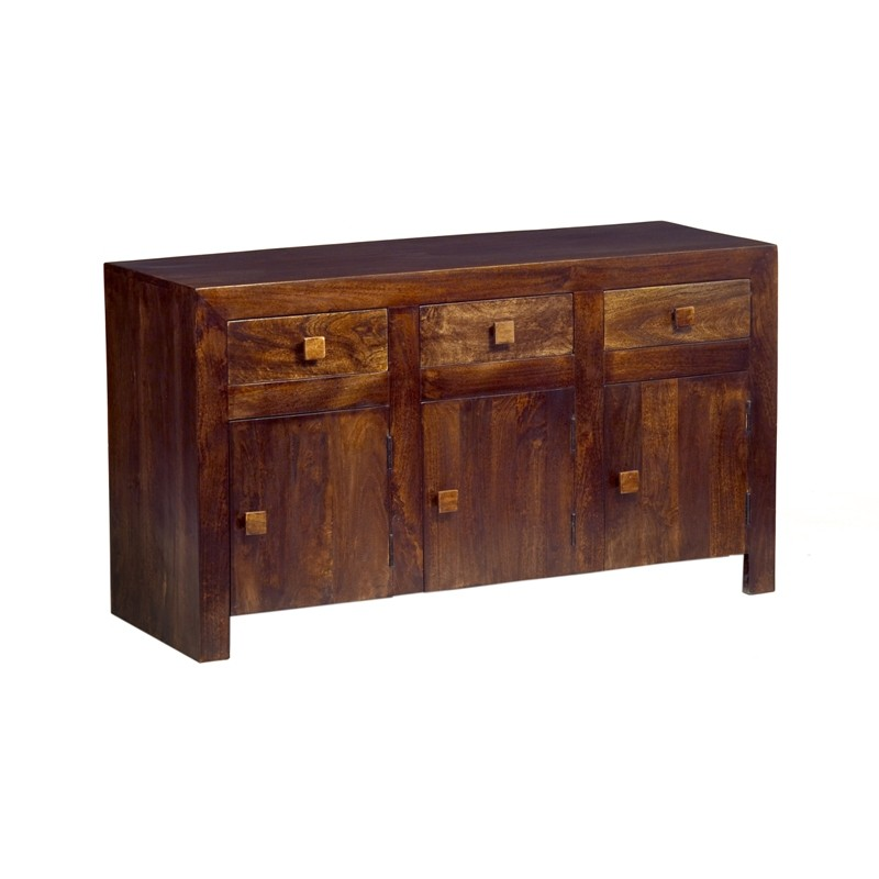 Dakota mango large sideboard verty indian furniture for Sideboard indien