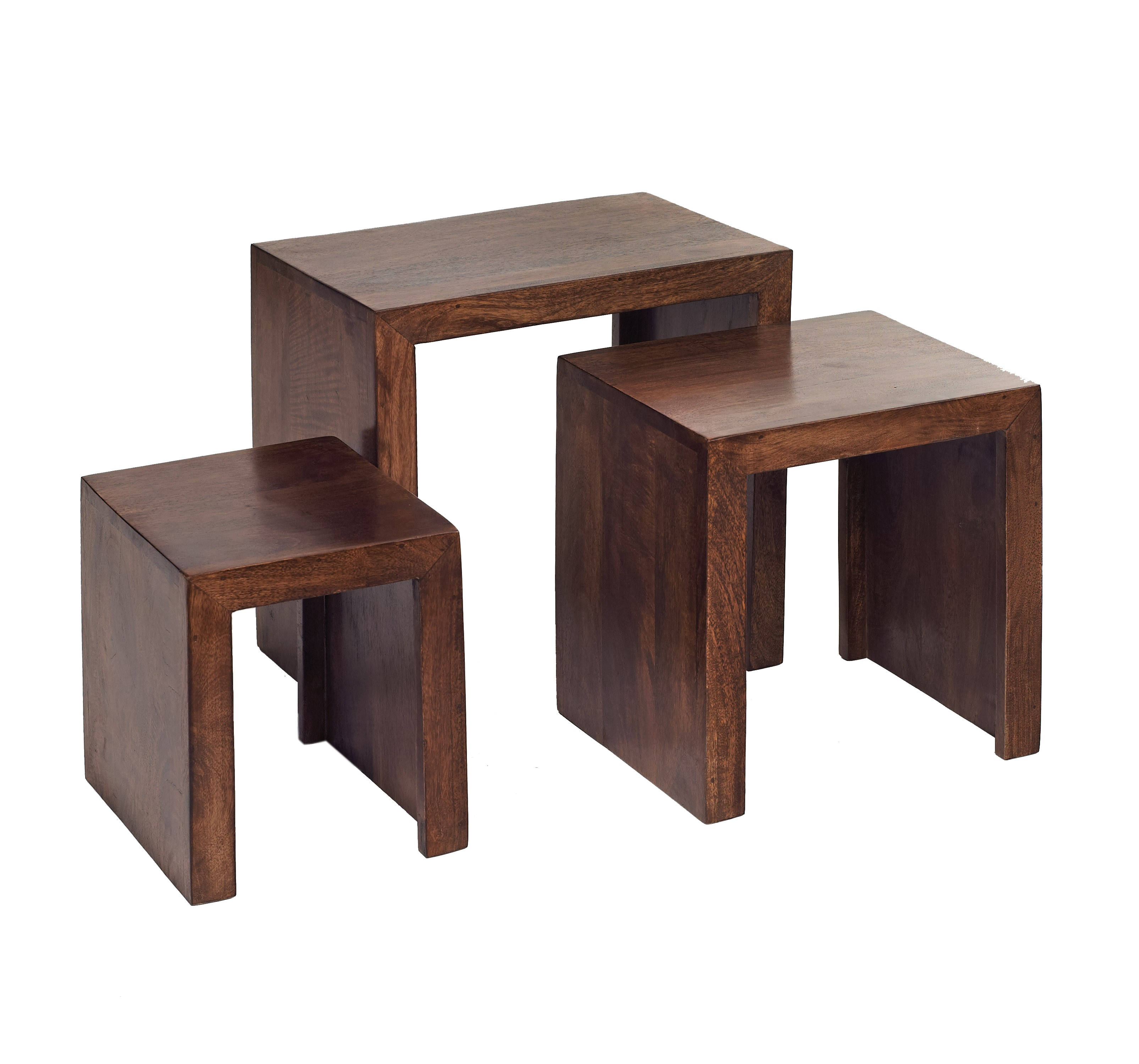 Home / Living / End Side Tables / Dakota Mango Nest Of 3 Tables. Full resolution  picture, nominally Width 3210 Height 2999 pixels, picture with #654134.
