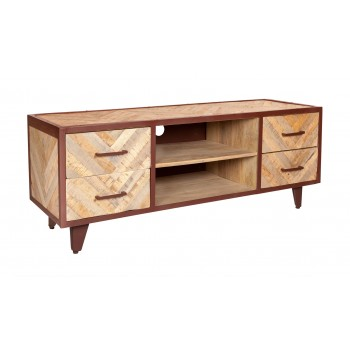 V Design Industrial TV Media Unit
