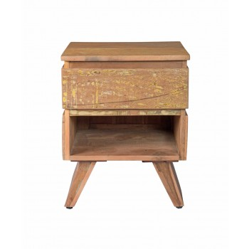 Reclaimed Limited Edition Bedside Table