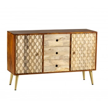 CNC Retro Large Sideboard
