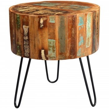 Reclaimed Boat Side Table