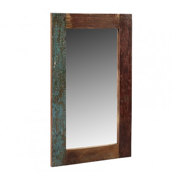 Reclaimed Boat Rectangular Mirror