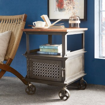 Urban Industrial Side Table
