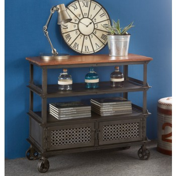 Urban Industrial Console Table