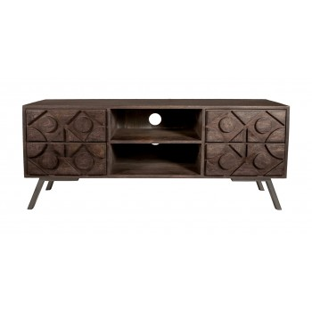 Camberley Mango Solid Wood Large Tv Stand