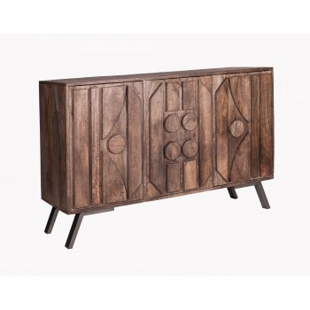 Camberley Mango Solid Wood Large Sideboard