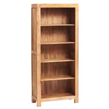 Dakota Light Mango Large Open Bookcase