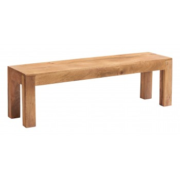 Dakota Light Mango Dining Bench