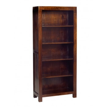 Dakota Mango Large Open Bookcase
