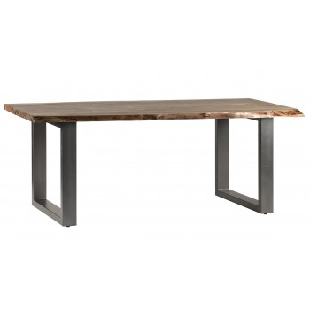 Natural Essential Live Edge Large Dining Table