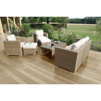 Napa 3 Seat Sofa Set /  Natural