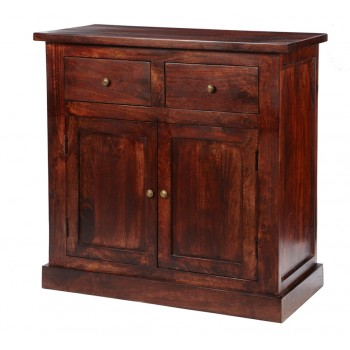 Maharani Dark Wood Sideboard 2 Drawers