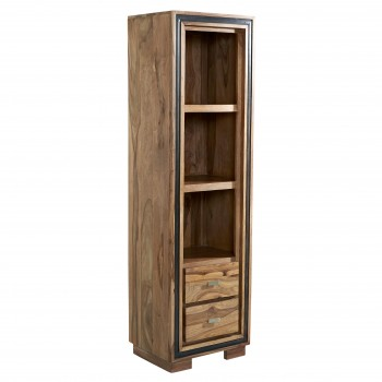 Indus Sheesham Narrow Bookcase