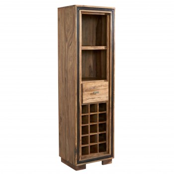 Indus Sheesham Wine Bookcase