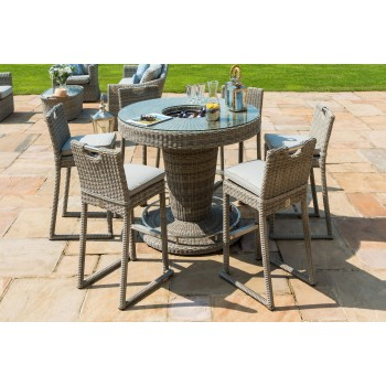 Clinton 6 seater Round Bar Set with Ice Bucket