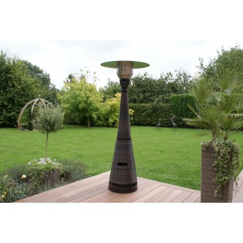 Brown Tall Gas Patio Heater