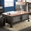 Urban Industrial 2 Door Coffee Table