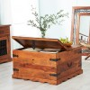 Jali Sheesham Coffee Table Trunk