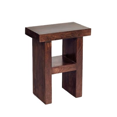 Dakota Mango Corner Table H Shape