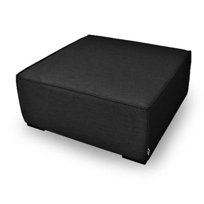 Aiden Footstool / Charcoal