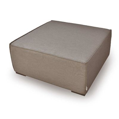 Aiden Footstool / Taupe