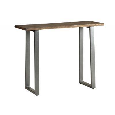 Console Table Grey Essential Live Edge