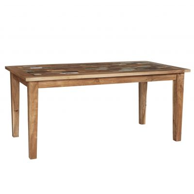 Reclaimed Boat Large Dining Table