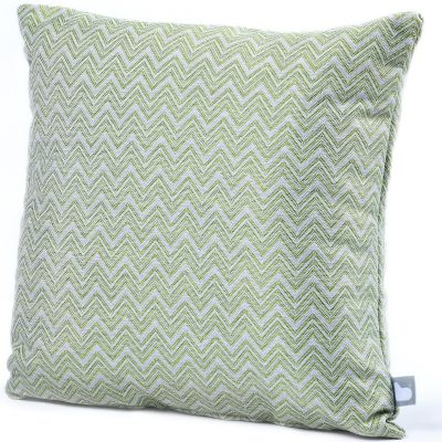 Fabric Scatter Cushion in Polines Green- Pack of 2